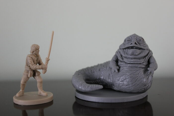 3D printing the perfect  miniature with a FDM printer
