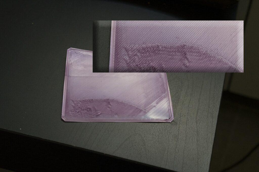 3d print first layer rough