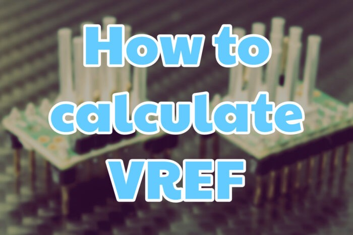 How to calculate VREF