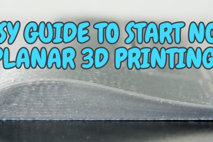 Easy guide to start nonplanar 3D printing