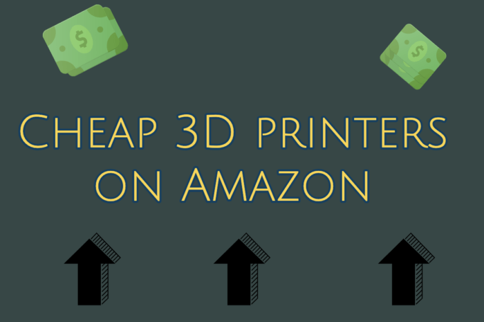 Cheap 3D printer on Amazon