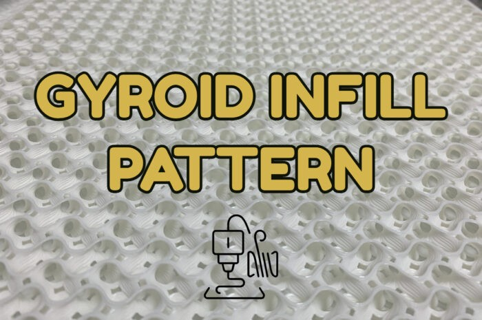 gyroid infill pattern